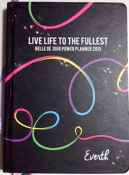 BDJ Planner for Goal-Setting 2015