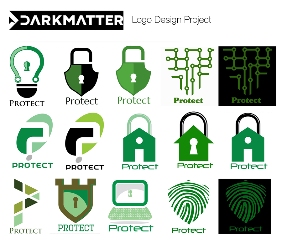 Dark Matter Logo Design Project