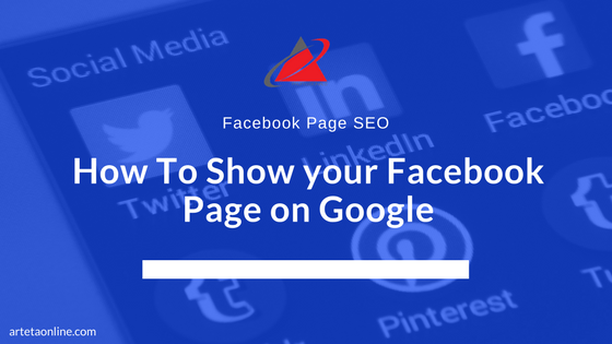 Facebook Page SEO - How To Show Your Facebook Page on Google